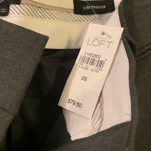 NWT size 0 short Ann Taylor Loft Julie trouser